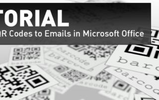 QR Code Mail Merge Tutorial codeREADr