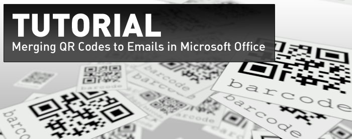 QR Code Mail Merge Tutorial for Email Marketing