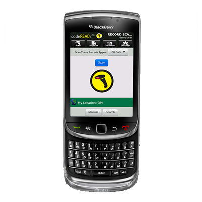 BlackBerry Barcode Scanner Updated
