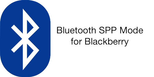 Bluetooth SPP Mode for Blackberry