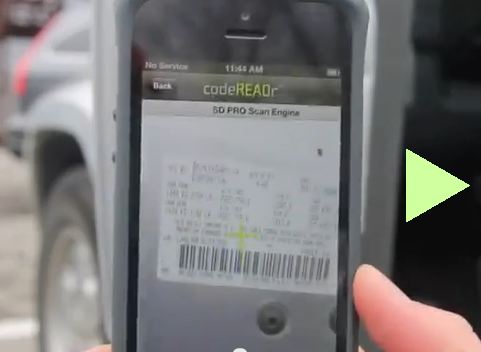 Camera Barcode Scanner for Business on Android and iOS
