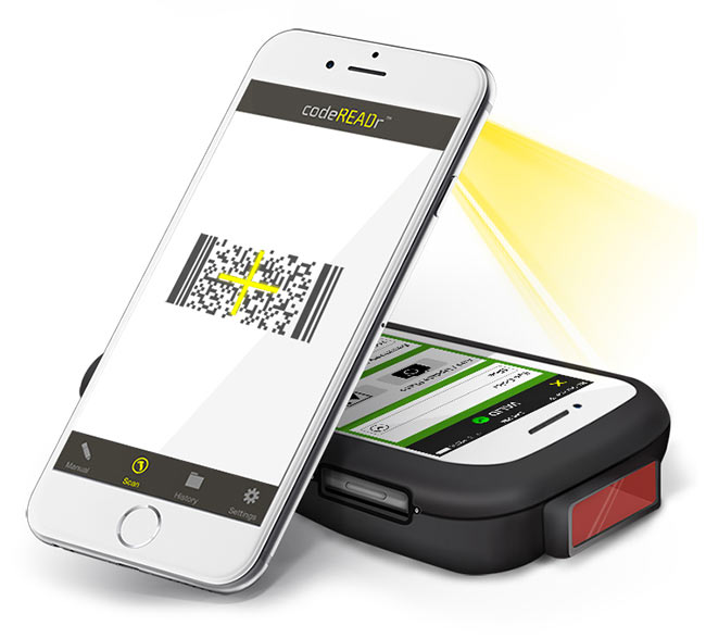 iPhone Barcode Scanner App