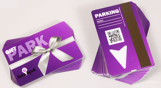 QR Code Gift Card Parking