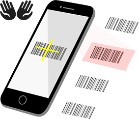 Rapid Barcode Scanning Capabilities