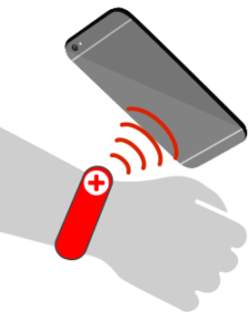 Scan ID, RFID or NFC badge and wristbands