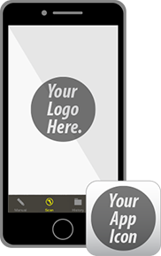 app with your logo