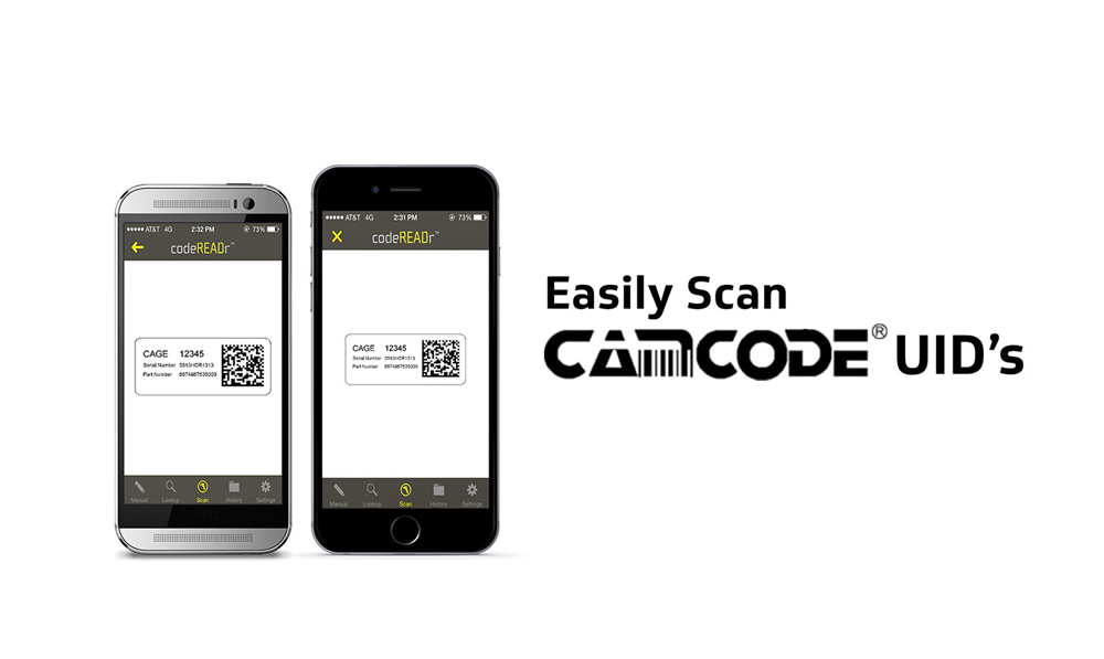 Camera Scan with SD Pro UID Tags