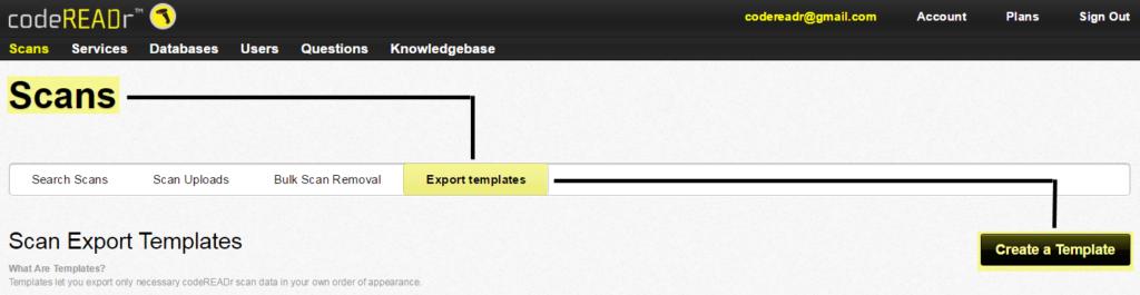 Export Template 1