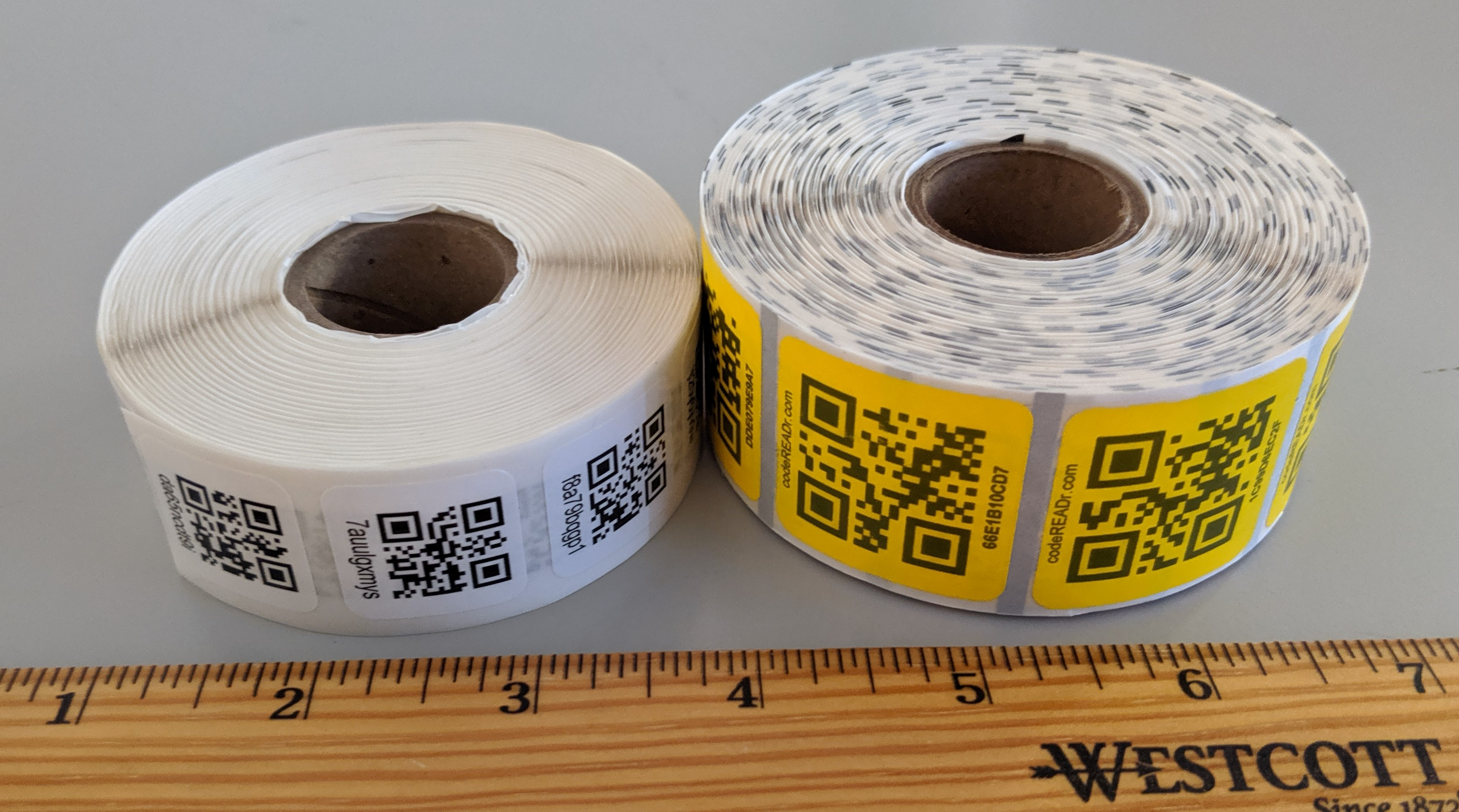 barcode sticky labels