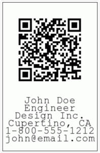 barcode for template instructions