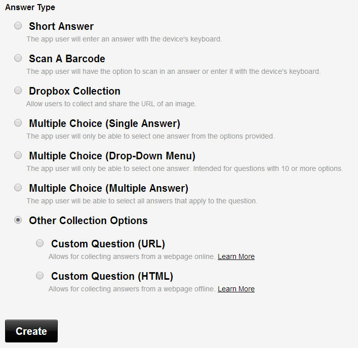 Coding Custom Questions for Barcode Scanning