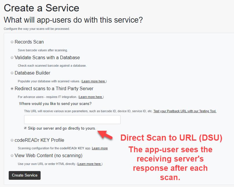 server response