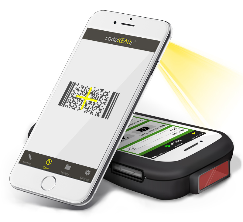 Smart Barcode Scanner App for Businesses - CodeREADr