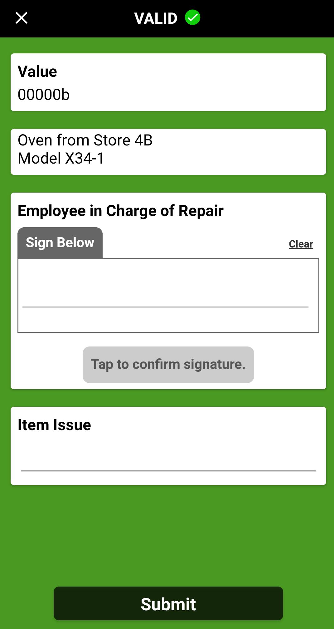 reverse logistics app