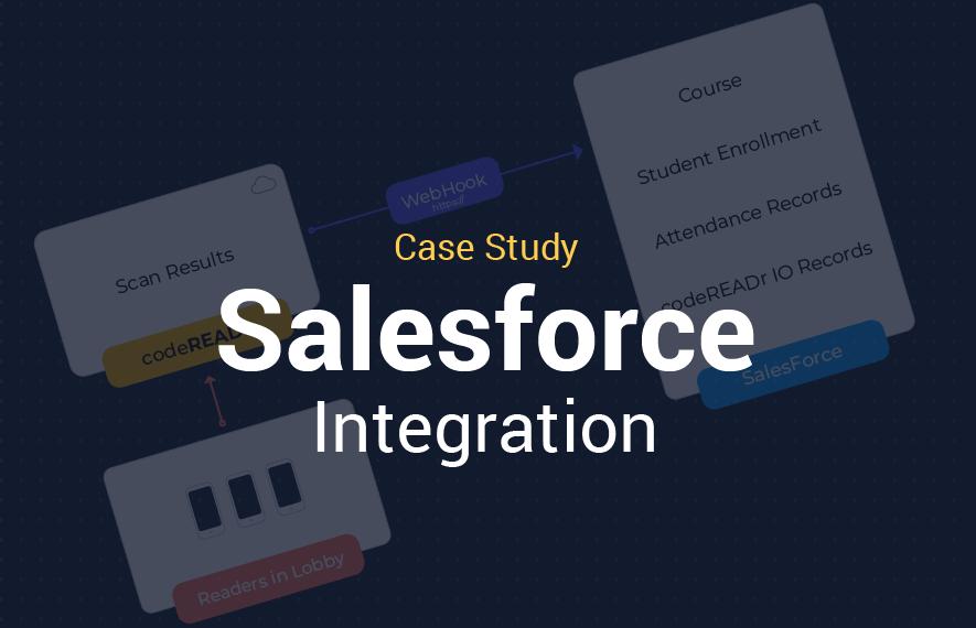 sales force codereadr integration cover image