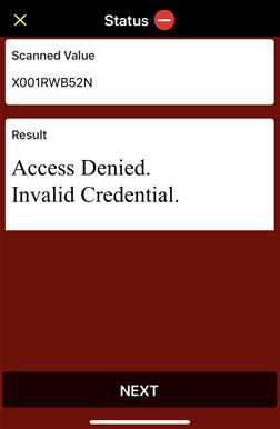 alter response access 2