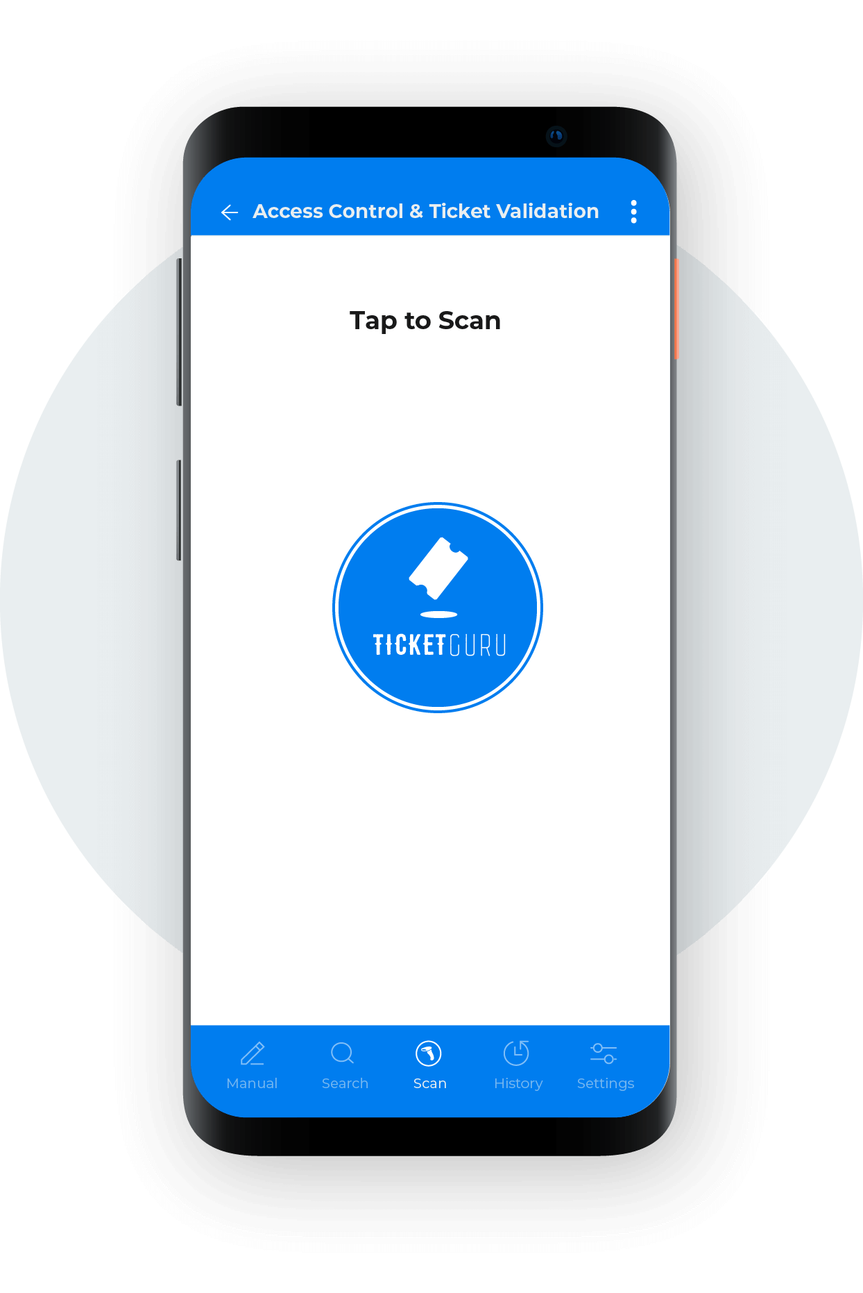 ticket scanning white label