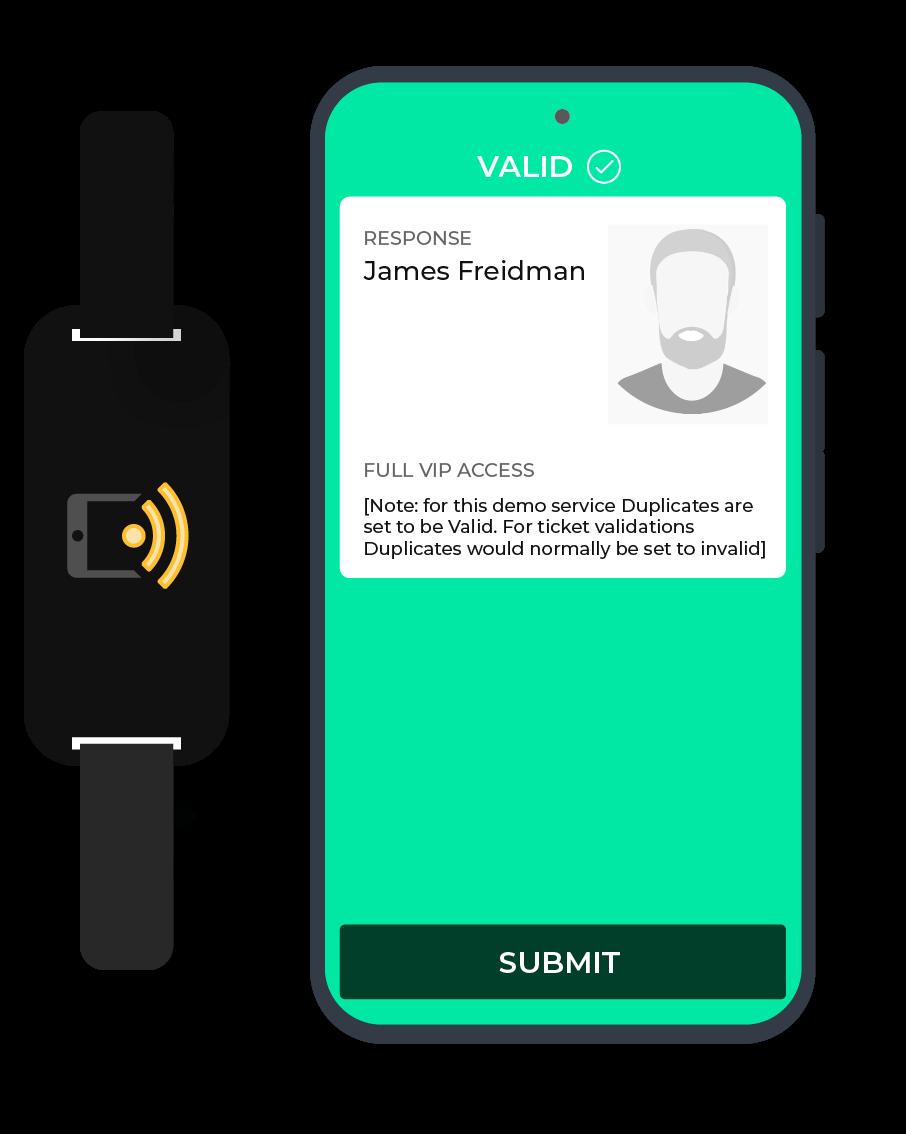 NFC reading
