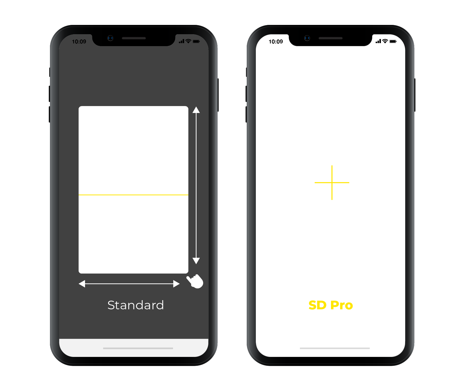 SD Pro Scan Engine Compared to Standard