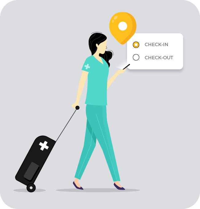 healthcare check-in solution